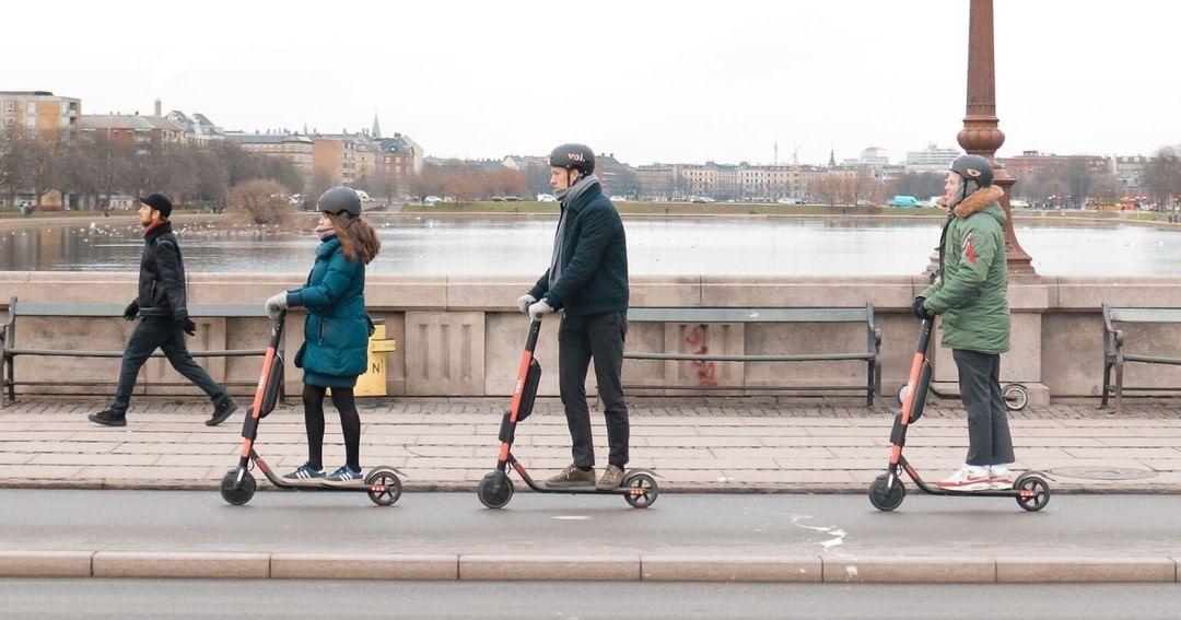 Voi Scooter gratis in Linz