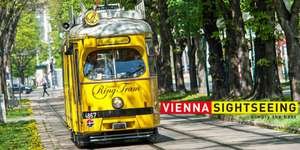 "Vienna Sightseeing ""Ring Tram"" - 50% Rabatt"