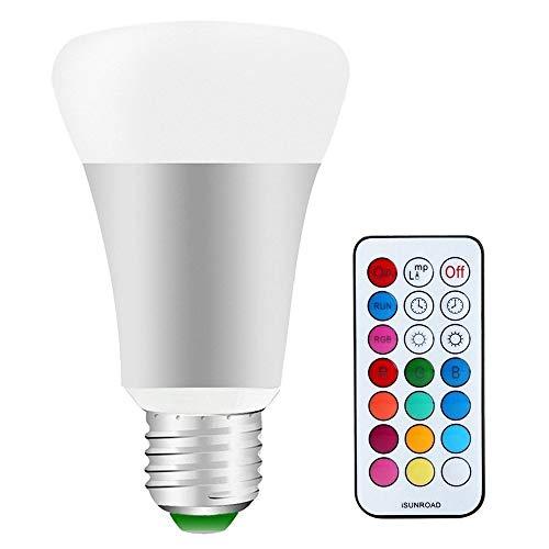 LED RGB Lampe E27 Dimmbar