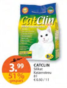 Cat Clin Silikat Katzenstreu 8L