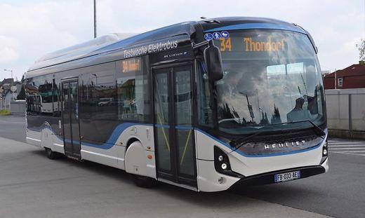 GRATIS Elektro-Bus-Linien in Graz (Linie 34, 50, 60 und 64)