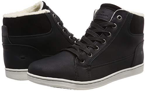 Tom Tailor Herren Sneaker Gr. 42 Schwarz