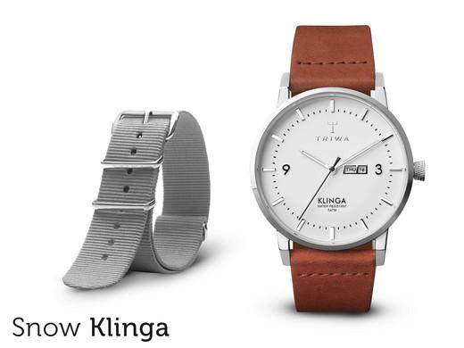 Triwa Armbanduhr mit 2 Armbändern für 65,90€