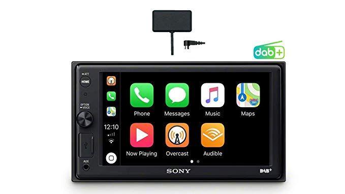[Amazon] Sony XAV-AX1005KIT DAB+ Media Receiver (Touchscreen 6,2 Zoll, mit Bluetooth und Apple CarPlay und DAB+ Antenne inklusive)