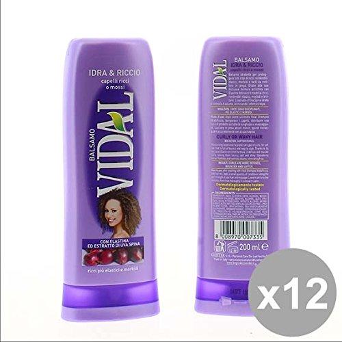 12x VIDAL Shampoo Idra & Riccio für lockiges Haar 250ml