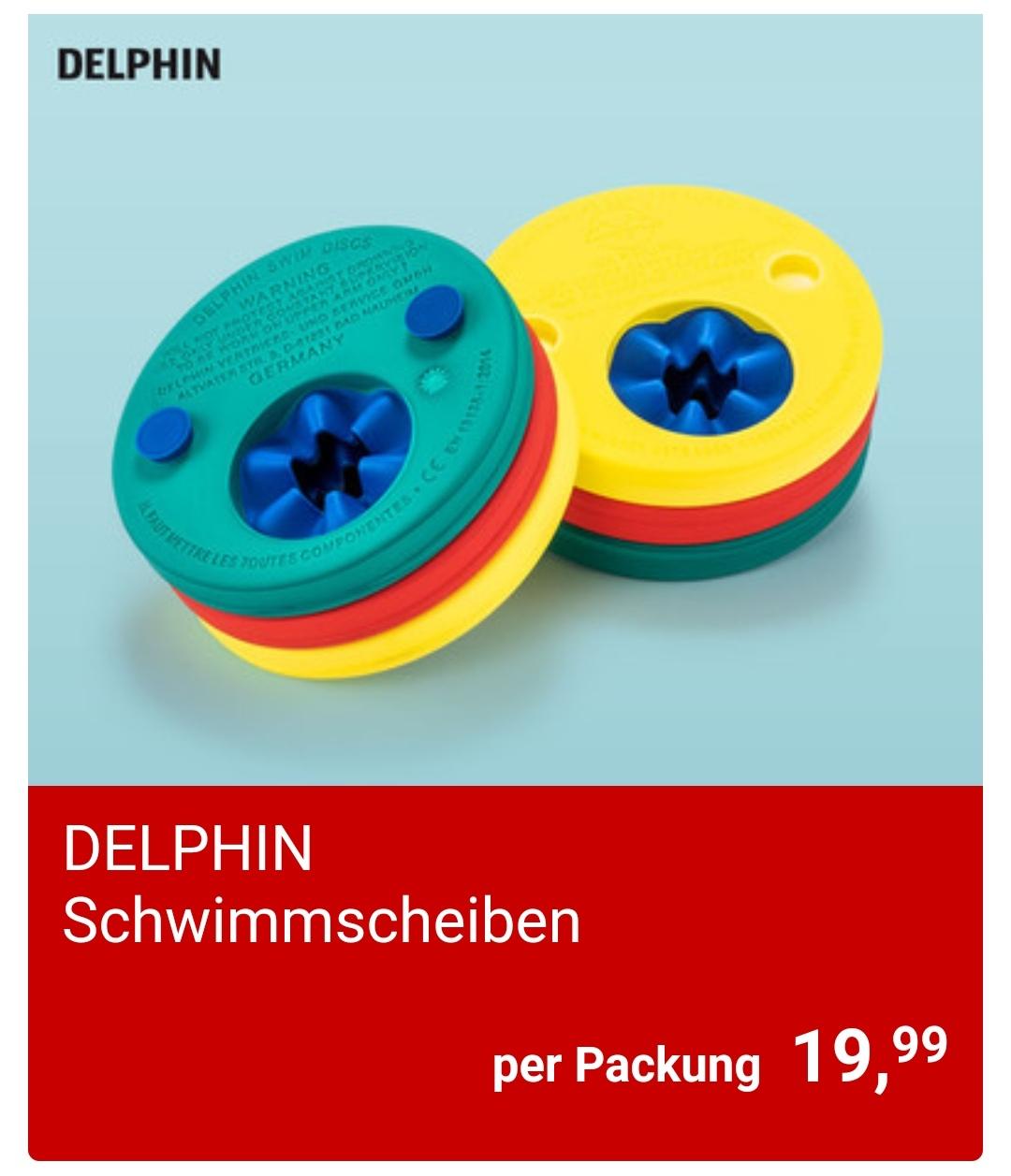 [Hofer]  Delphin Schwimmscheiben Set ab 2.5.