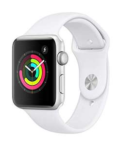 Amazon.fr: Apple Watch Series 3 GPS, 42mm, silber mit Sportarmband