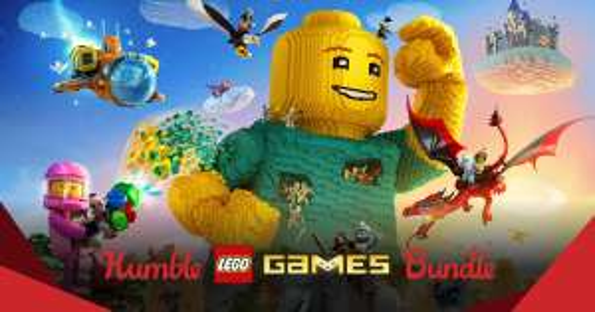 Humble Lego Games Bundle @HumbleBundle
