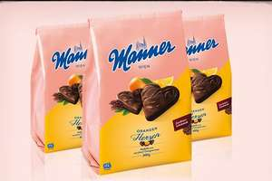 Manner Waffelherzen, 300/400g