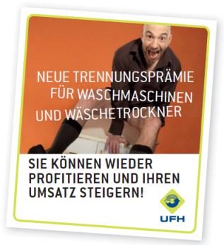 100€ Trennungsprämie für den Austausch alter Waschmaschinen und Trockner