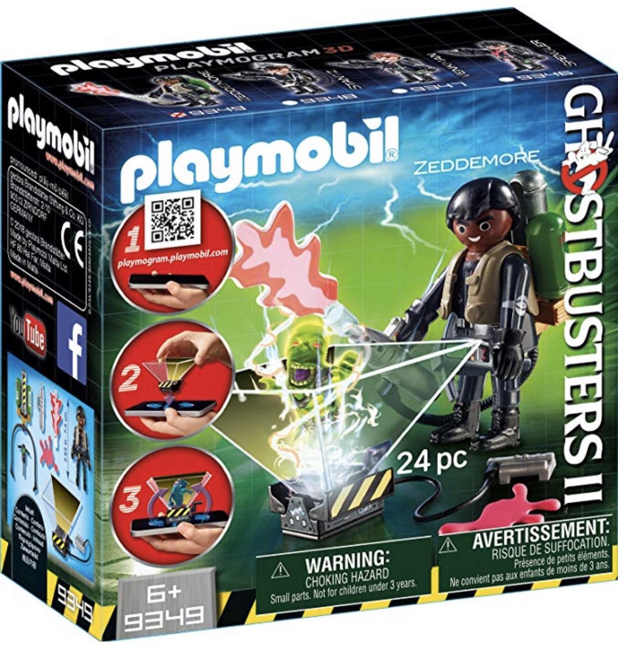 Playmobil 9349 - Geisterjäger II Winston Zeddemore Spiel