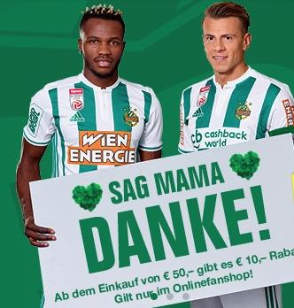 SK Rapid Wien Fanshop - 10 € Rabatt ab 50 €