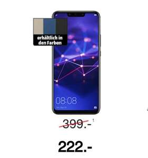 MediaMarkt: Huawei Mate 20 Lite zum Bestpreis!