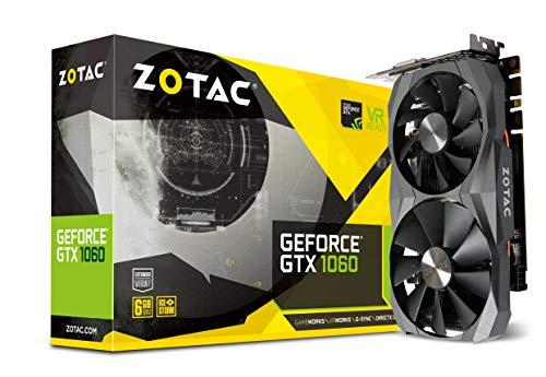 Zotac GeForce GTX 1060, 6GB GDDR5X, DVI, HDMI, 3x DP mit 5 Jahren Garantie