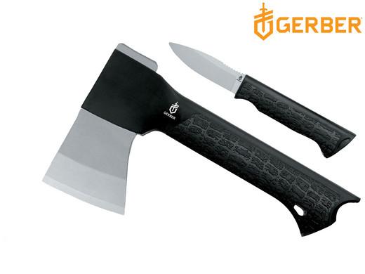Gerber Gator Outdoor-Set Beil + Messer + Gürtel-Etui