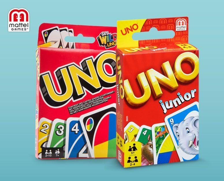Hofer: Kartenspiele Uno & Uno Junior