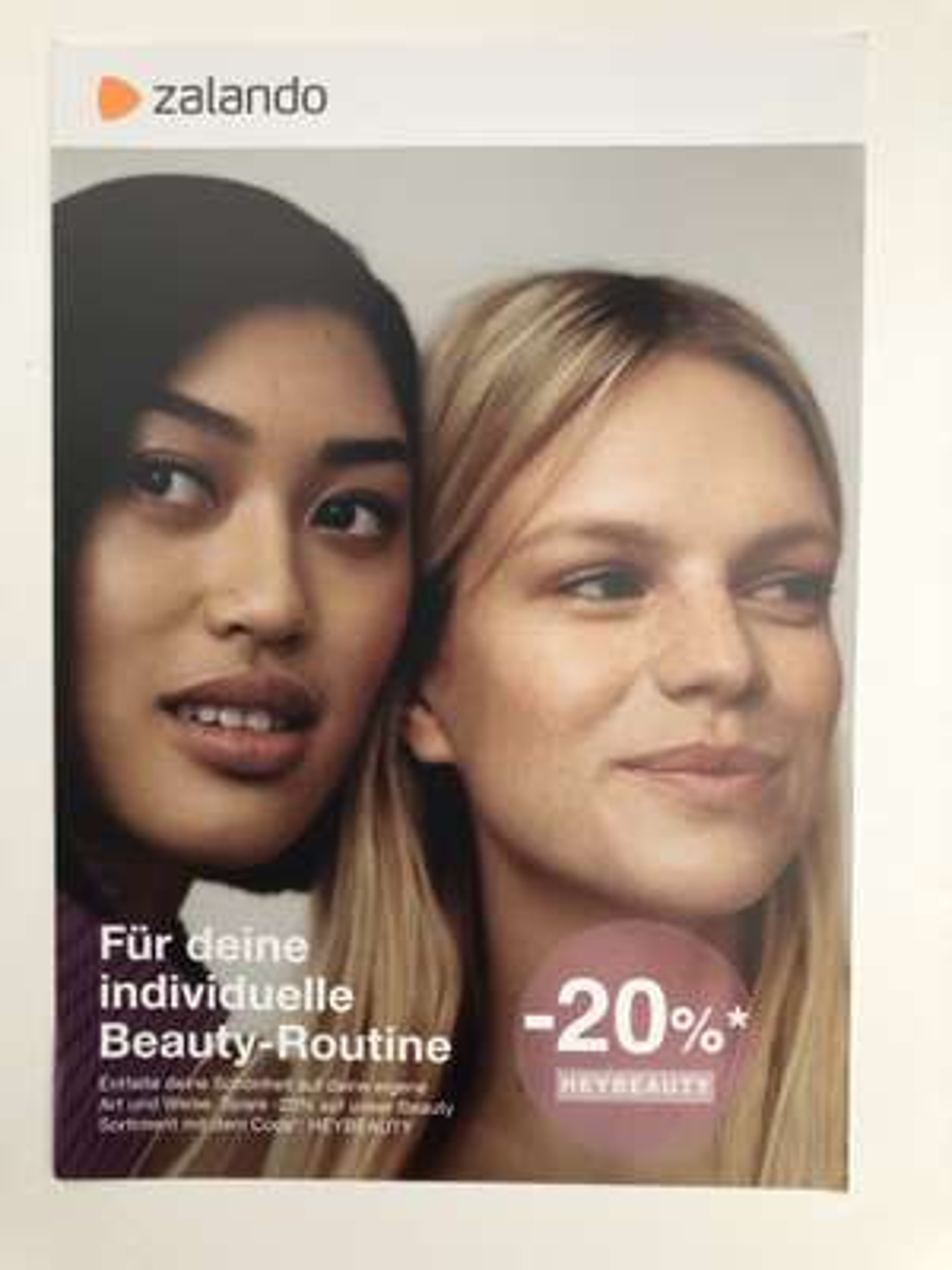 ZALANDO: -20% auf das Beauty-Sortiment