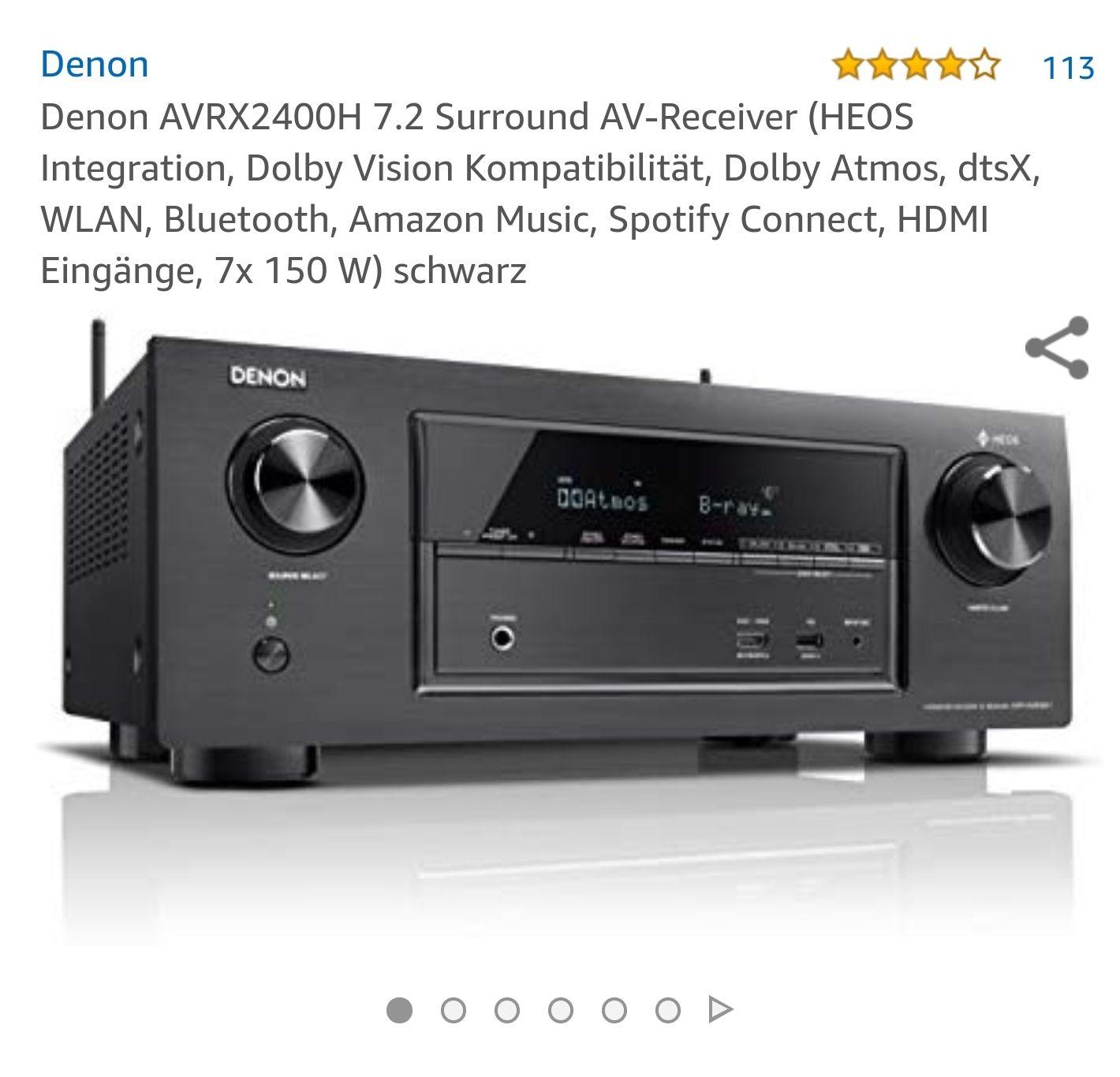Denon AVR X2400H neuer bestpreis