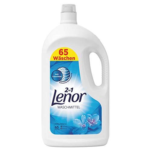 www.AMAZON.de l Lenor Waschmittel Flüssig Aprilfrisch, 3x 65 Waschladungen = 12 Liter