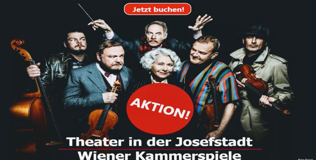 -50% auf Tickets für Veranstaltungen im Theater in der Josefstadt und den Kammerspielen der Josefstadt
