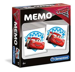 Clementoni Disney Cars Memo Games