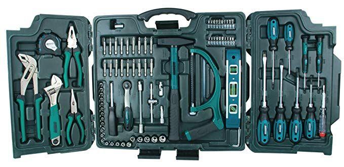 Mannesmann 89-teiliger Universal- und Haushalts-Werkzeugkoffer