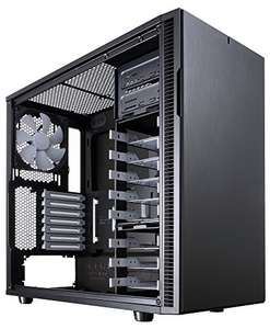 Fractal Design Define R5 Black Pearl, PC Gehäuse (Midi Tower), schwarz