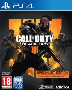 Call of Duty: Black Ops 4 Specialist Edition (PlayStation 4 / Xbox One)