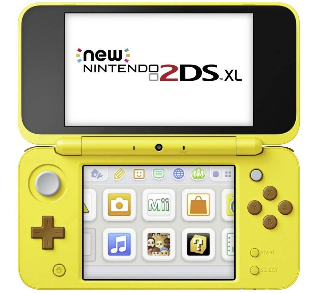 Schnell! [Conrad] New 2DS XL Konsole Pikachu-Edition Gelb oder  Pokeball Edition rot/weiß inkl. Speicherkarte (gratis Versand)