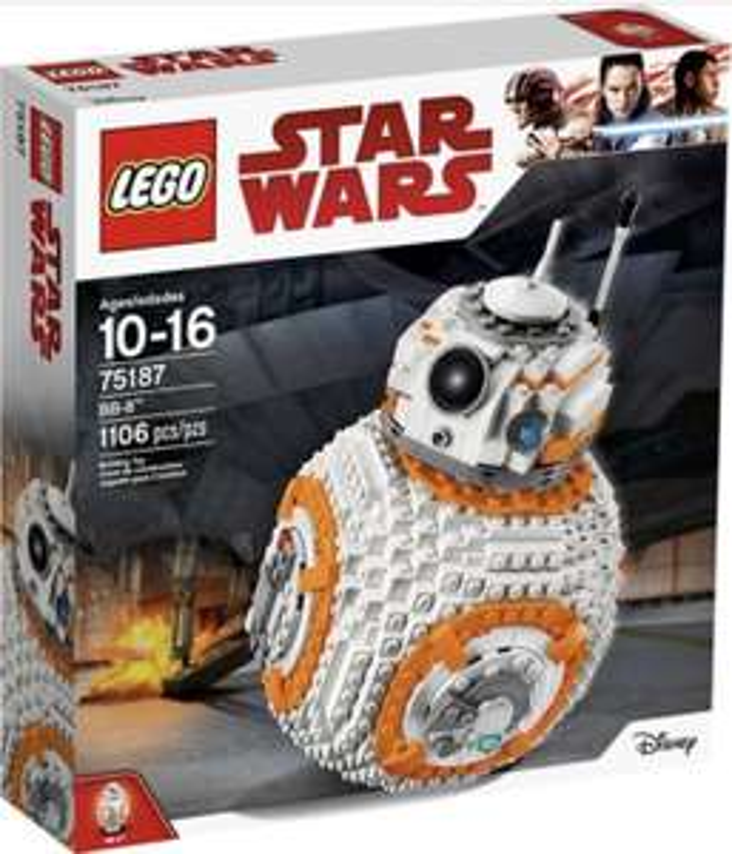 LEGO 75187 Star Wars The Last Jedi BB-8 (Amazon.UK)