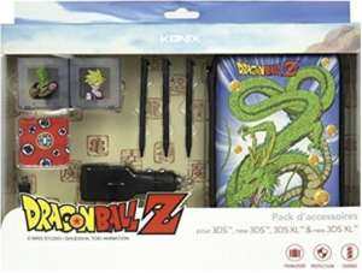 Konix Accessories 3 Zubehör Sets für Nintendo 2DS/3DS, Dragonball Z Design
