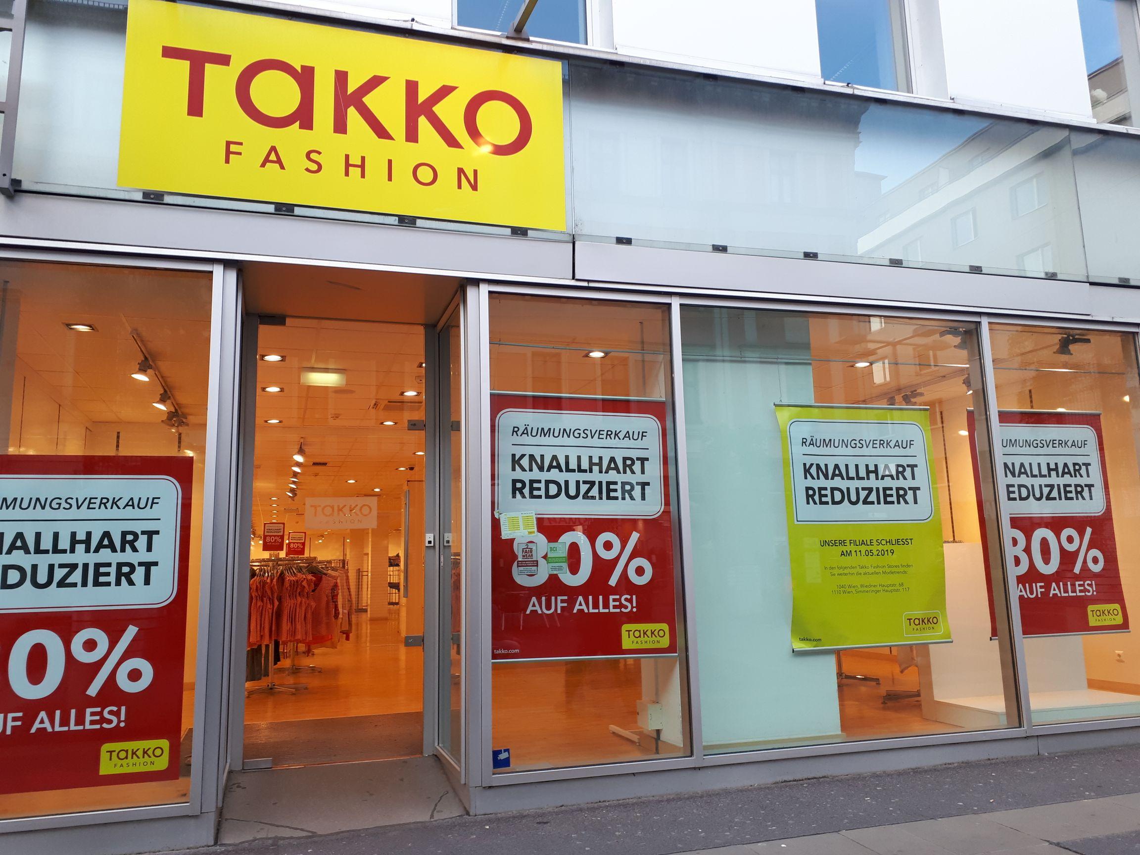 Takko Fashion in 1100 Wien: 80% auf ALLES!