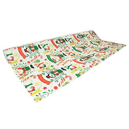 www.AMAZON.de l 50 Meter Rolle (50x0,70m) Weihnachts-Geschenkpapier Clairefontaine - Weihnachten kann kommen!