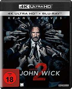 John Wick: Kapitel 2 (4k Ultra HD + Blu-ray) (2 Disc-Version)