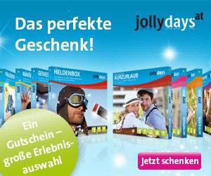 JollyDays - die 3 Top-Seller - 50% rabattiert - bis 14.5.2019