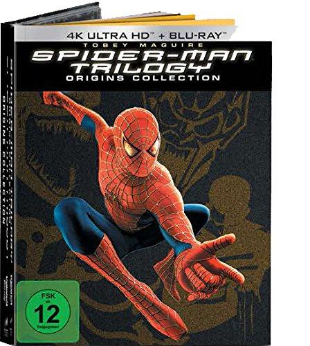 Spider-Man 1-3 (Spider-Man Origins Collection 7 Discs Version) 4k Edition