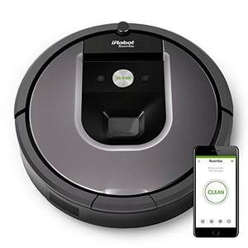 www.AMAZON.de l iRobot Roomba 960 mit Logoix ca. € 410,-