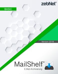 """GRATIS zebNet """"MailShelf Basic"""" zur professionellen E-Mail Archivierung"""