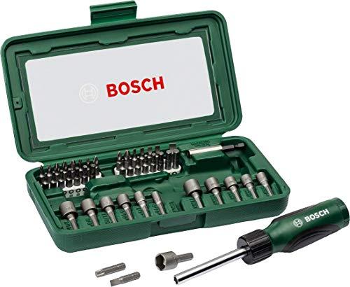 Bosch Bitset/Steckschlüsselsatz, 46-tlg.