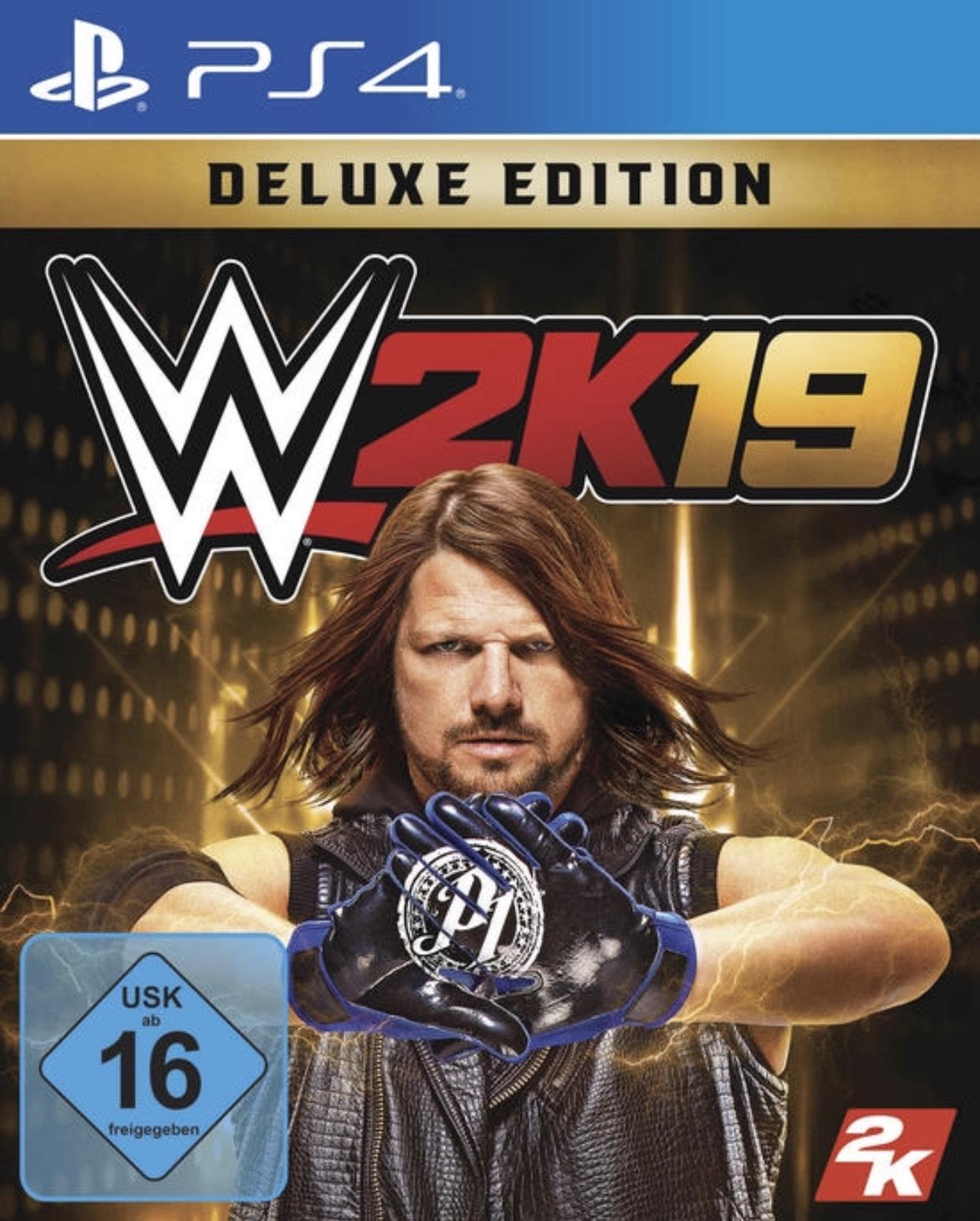 WWE 2K19 Deluxe Edition für PlayStation 4