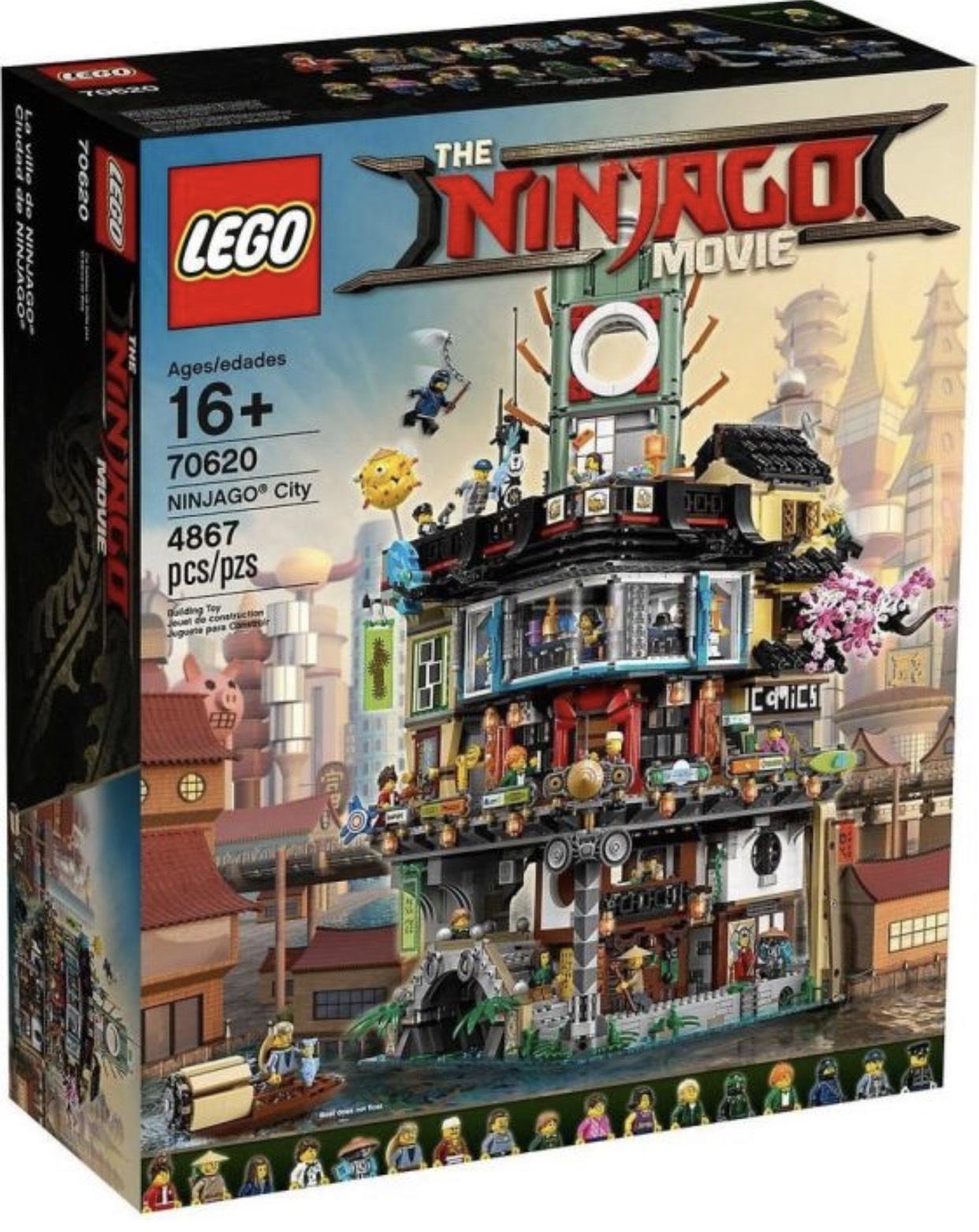 LEGO The Ninjago Movie - Ninjago City