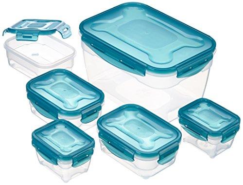 AmazonBasics 6 tlg. Vorratsdosen-Set (BPA-frei)