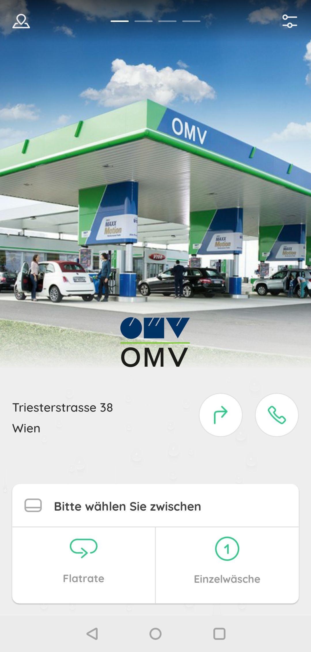 Gratis autowaschen bei OMV