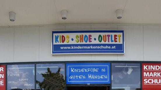 Kids Shoes Outlet - Lokal KLAGENFURT - gegenüber Rutar Center -50% auf alle Kinderschuhe