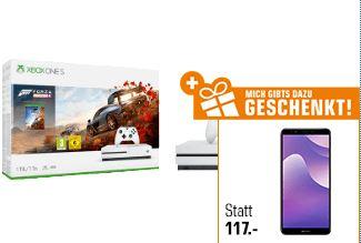 LogoiX: Xbox One S 1 TB Forza Horizon 4 Bundle + Huawei Y7 für 211,- Euro