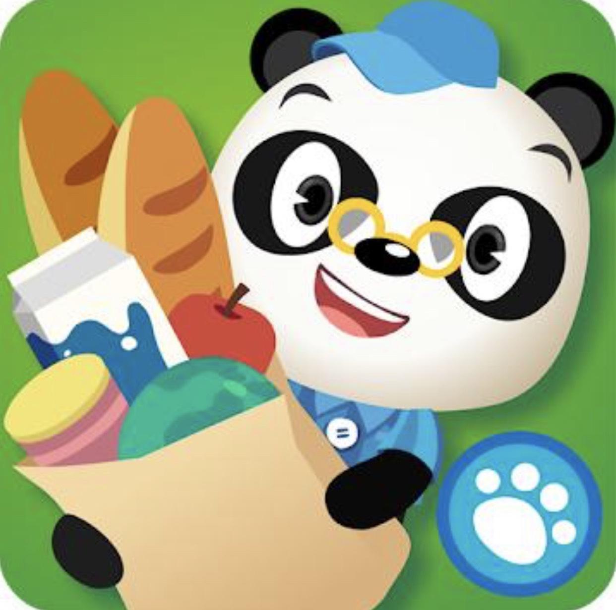 Dr. Panda Supermarkt für iOS und Android