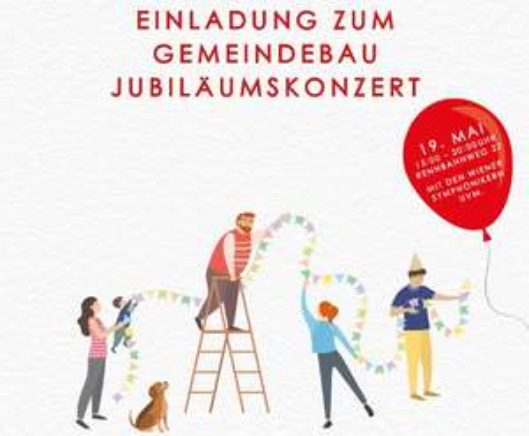 (Wien) 19.05. Gratis Konzert Wiener Symphoniker / Mojo Blues Band / Norbert Schneider / Gemeindebauchor