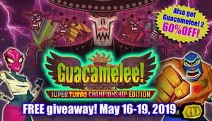 [Steam-Key] GRATIS Guacamelee Super Turbo Championship - by Humblebundle