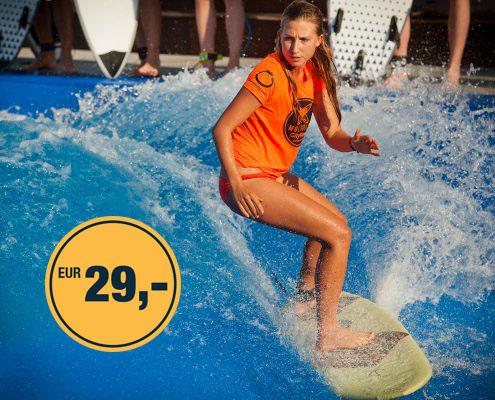 CityWave Saisonopening kostenlos Wellenreiten