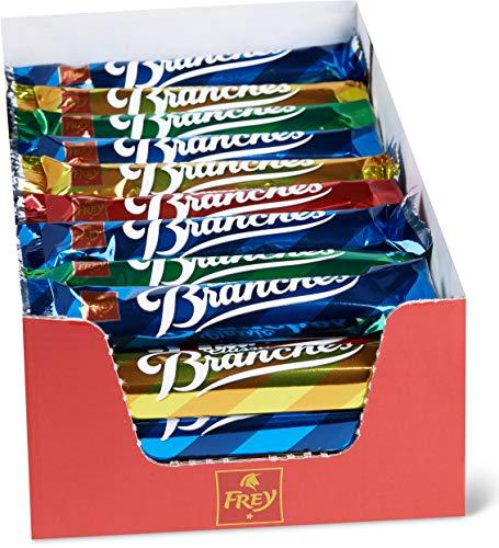 Frey Branches Classic, Riegel aus feiner Milchschokolade garniert mit Nusssplittern